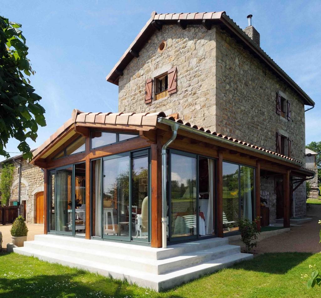 Extension de maison : quel type de toiture pour sa véranda ? - Des astuces pour la décoration ...