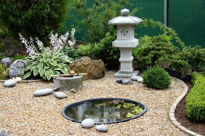 amnagement du sol - Creation Jardin Japonais Photos