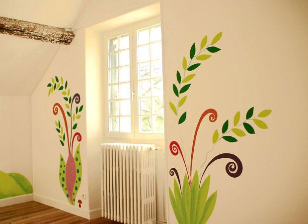 peinturemurale couvjpg - Decoration De Mur Interieur En Peinture
