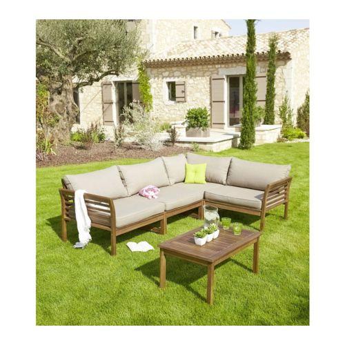 Salon de jardin, et pourquoi pas l\'acacia ? – Des astuces ...