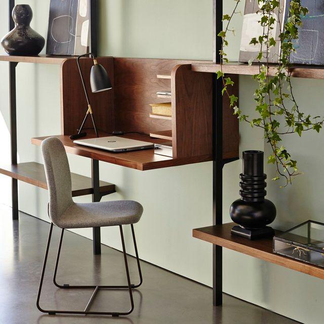 des astuces pour la d coration int rieure optimiser son espace bureau la maison. Black Bedroom Furniture Sets. Home Design Ideas